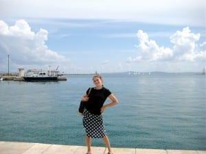 Steph in croatia